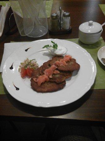 Zlata Ulicka: оладьи из кабачков