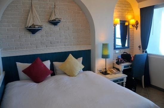 Hotel Bayview: our seaview room