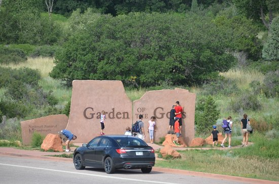 Garden of the Gods: The entrance to the park