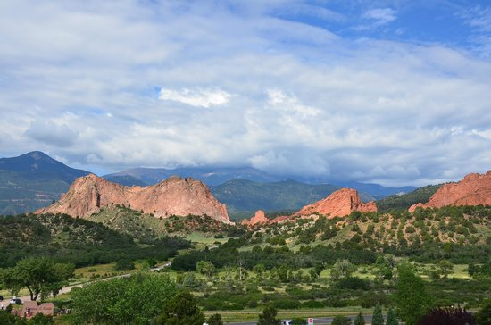 Garden of the Gods: Rock formations