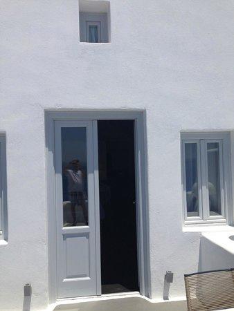 Katikies Hotel: Room Entry