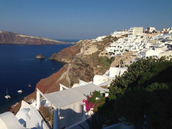 Katikies Hotel: Oia View