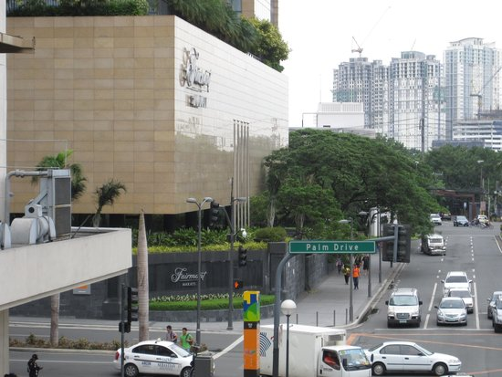 Fairmont Makati: View from mall JUL2014