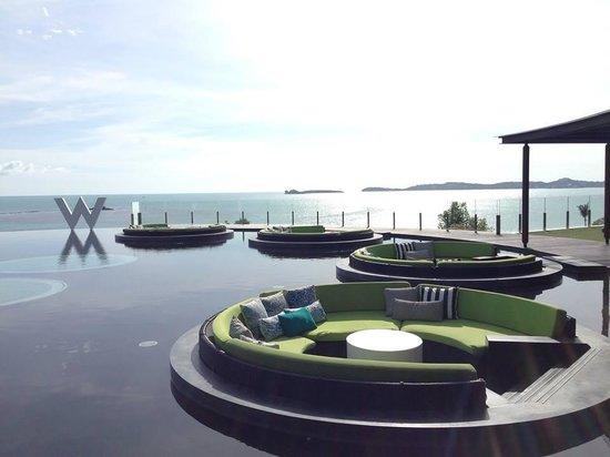 W Retreat Koh Samui: Welcome lobby