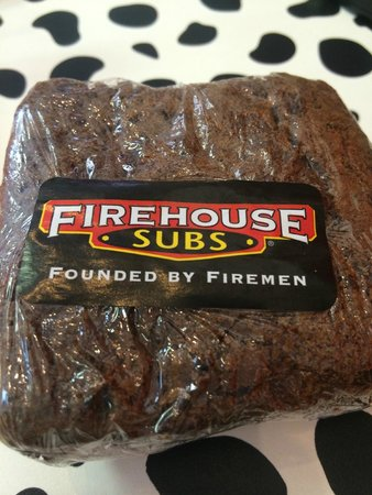 Firehouse Subs: Brownie