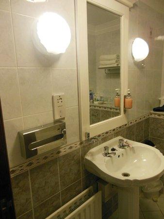 Treacys Oakwood Hotel: two taps - that's quite uncomfortable :)