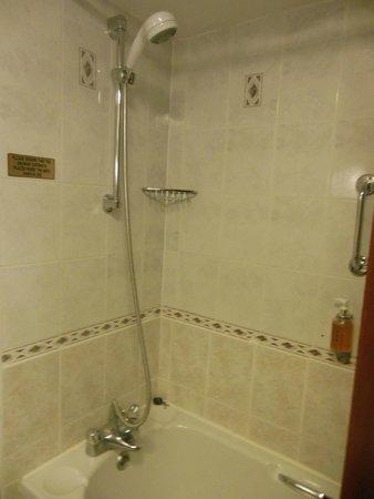 Treacys Oakwood Hotel: a bath