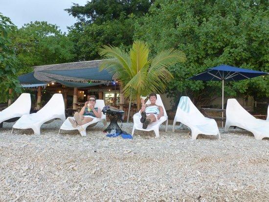 Hideaway Island Resort: beach front view