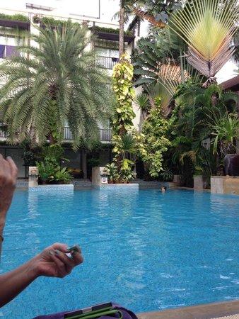 Burasari Resort: Big pool