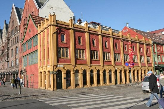 Det Hanseatiske Museum og Schoetstuene : Outside of Museum