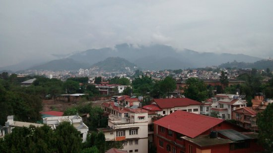 Grand Hotel Kathmandu: view from my room of grand hotel