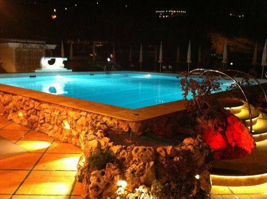 Grand Hotel La Favorita: Roof top pool