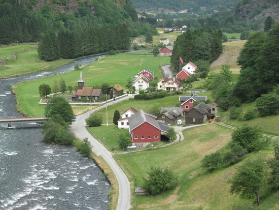The Flam Railway : On way to Flam