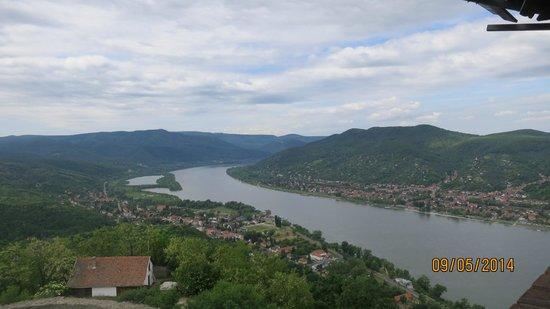 Visegrád Citadel: Danube bend