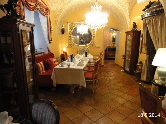 Alchymist Nosticova Palace: The breakfast room