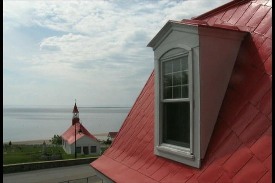 Hotel Tadoussac: View from the window.