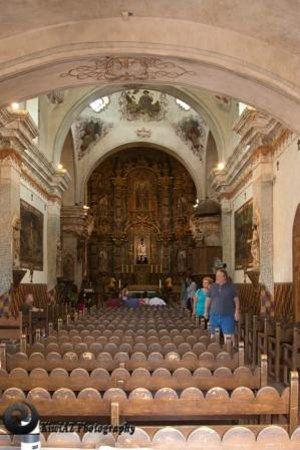 Mission San Xavier del Bac : inside