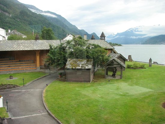 Hotel Ullensvang: Edward Grieg's home on hotel grounds