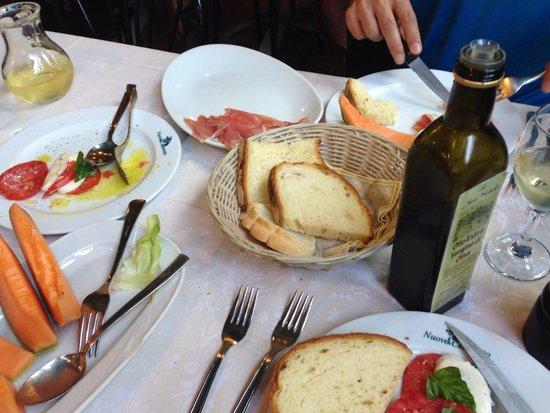 Osteria Nuovo Convento: Best antipasti ever!