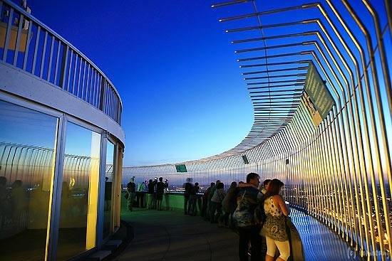 Olympiaturm: オリンピックタワー展望フロア