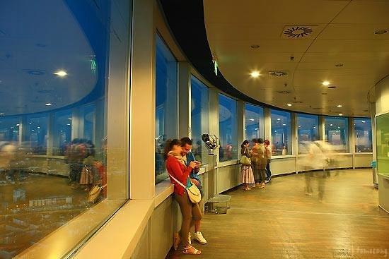 Olympiaturm: オリンピックタワー展望室