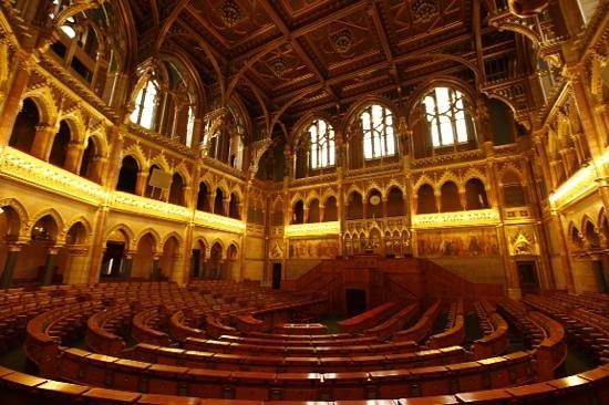 Foto de parlamento budapest interior do parlamento for Foto del parlamento
