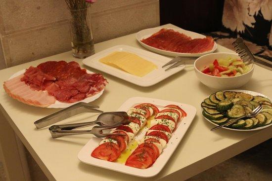Villa Valdibora: breakfast, local produce, fresh every morning