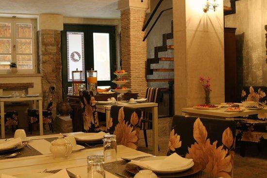 Villa Valdibora: breakfast room