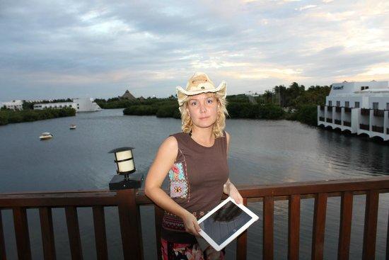 Club Med Cancun Yucatan: Балкон. Вид на лагуну