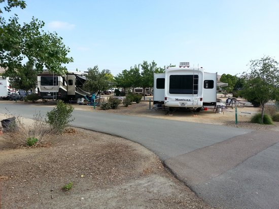 Santee Lakes Recreation Preserve: Newer section - between Roads B & D.