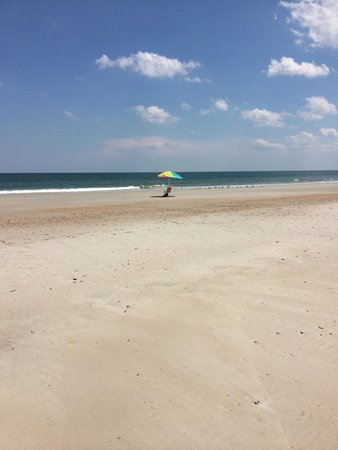 Fort Clinch State Park: Beautiful and quiet beach