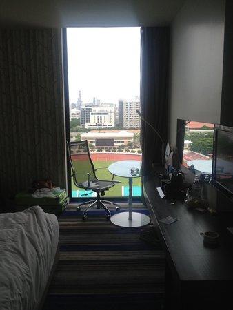Holiday Inn Express Bangkok Siam : Finestra della stanza