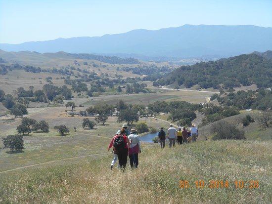 Santa Ynez, CA: Sedgwick tour looking south