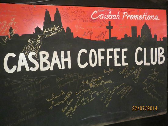 Casbah Coffee Club: I had a great time.