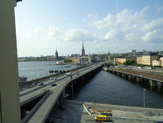 Hilton Stockholm Slussen: view