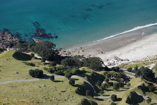 Mount Maunganui Summit Track: View from the top of Maunganui