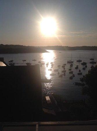 Hotel du Port et de l'Aven : Room with a view