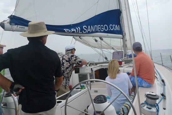 Sail San Diego: Sailing