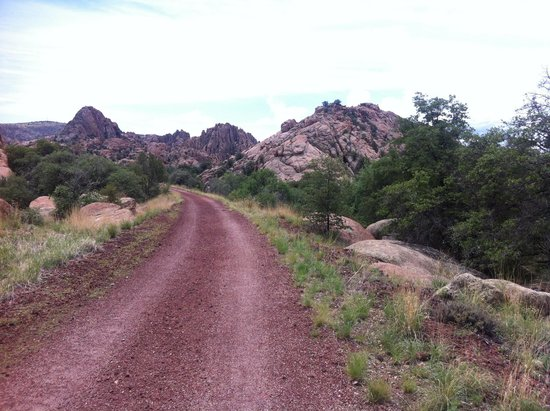 Prescott Peavine National Recreation Trail : An easy riding surface