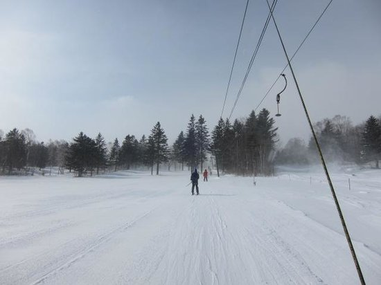 Sahoro Resort Ski Place: まさかのJバーリフト