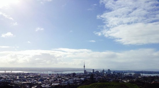 Mount Eden: Auckland In Panoramic