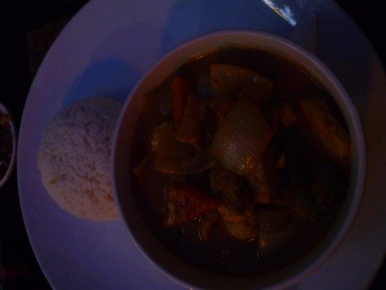 Aussie XL Cafe: Khmer chicken curry