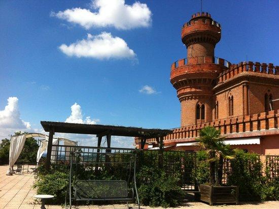 Al Castello: La terrazza