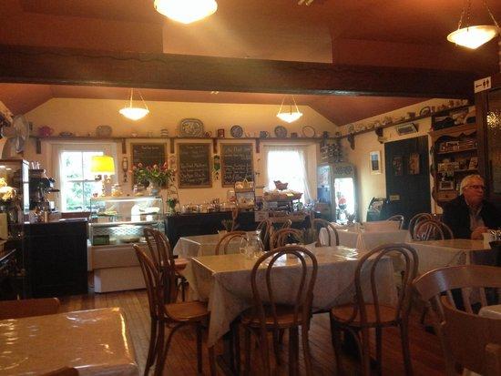 The Red Door Tea Room: Inside