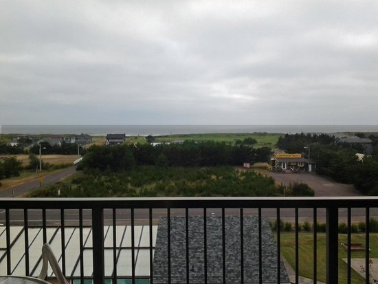 The Surfside Inn: View from Deck of 3rd floor room