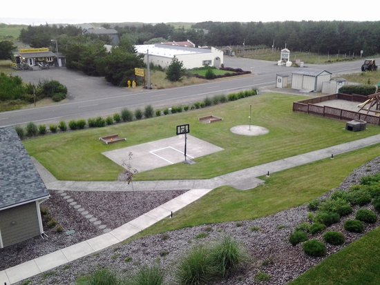 The Surfside Inn : View of playground from 3rd floor
