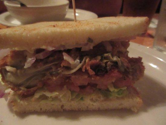 Ketch Joanne Restaurant & Bar : Yummy Oyster Sandwich - Ketch Joanne Restaurant and Bar (Half Moon Bay, CA)