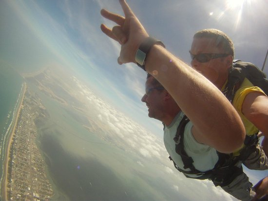 Skydive South Padre Island: Freefall!