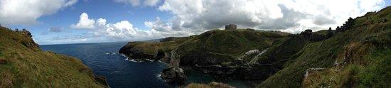 Tintagel Castle : View