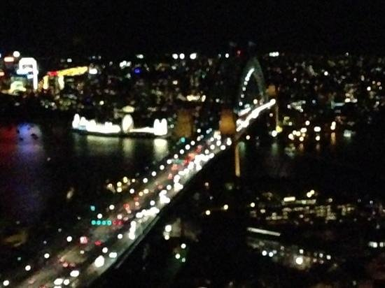 Shangri-La Hotel Sydney: view from the bar